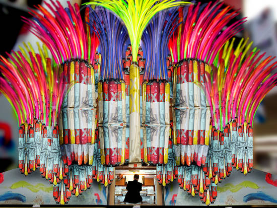 The Magical Paint Organ