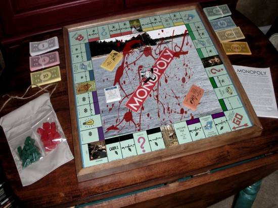 Friday the 13th Monopoly
