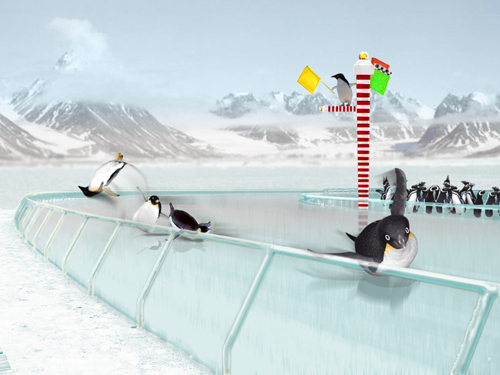 Race of the Penguins