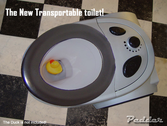 Transportable toilet!