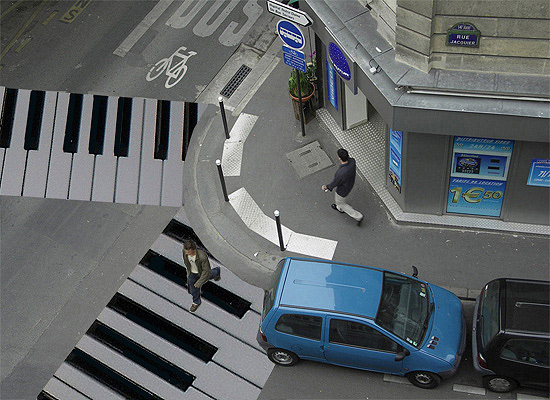 Piano Crosswalk