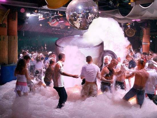 Beer Foam Party
