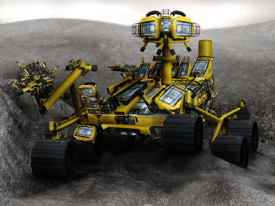 Inquisitive: Lunar Rover