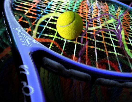 colorful racket