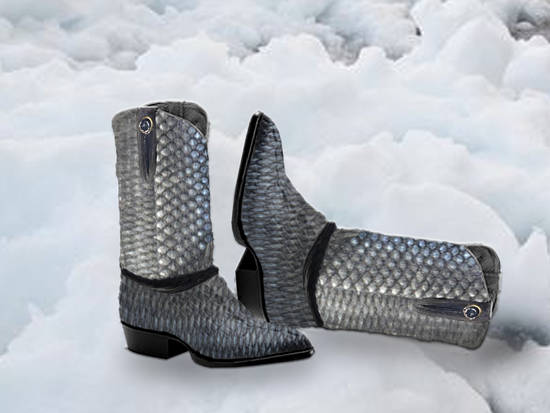 Fish Scale Boots