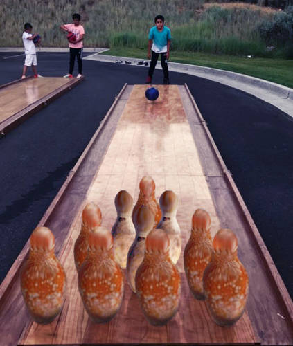 Portable Bowling