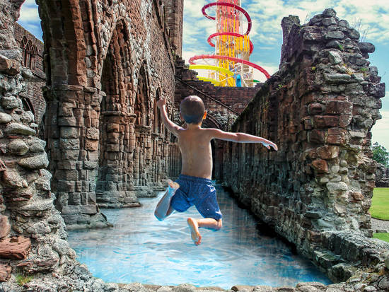 Ruins Waterpark upd