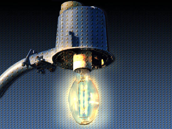 Mosaic Lightbulb