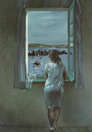 Figure at a Window..Dali