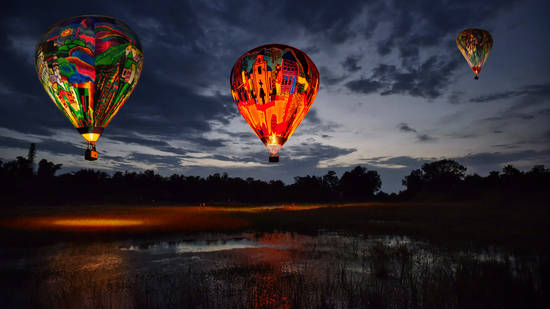 Night Ballooning