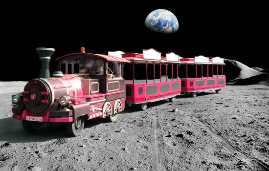 Ride On The Moon !