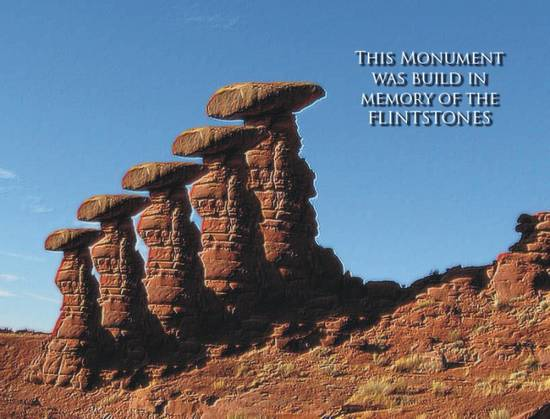 Flintstones Monument