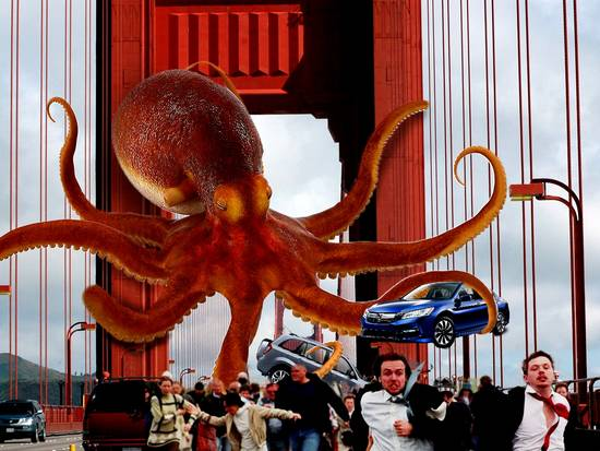 Attack of the Giant Octo