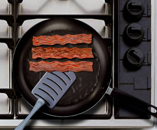 Chlorinated Bacon