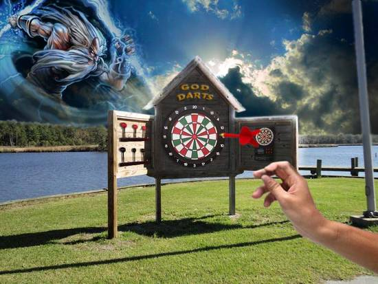 Outdoor God Darts