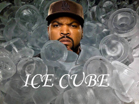 Ice Cube With His Family