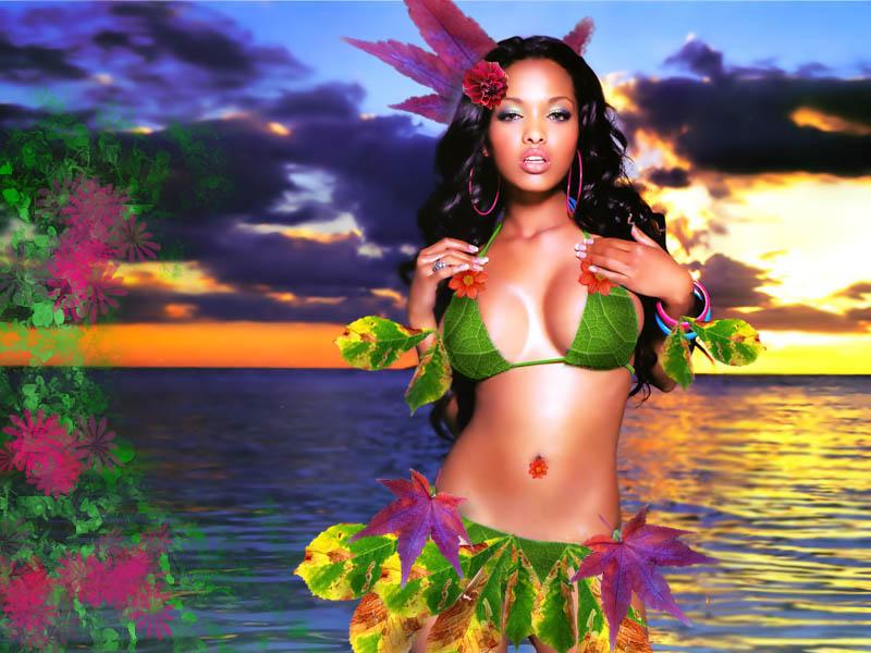 самые сексуальные девушки на гавайях тут