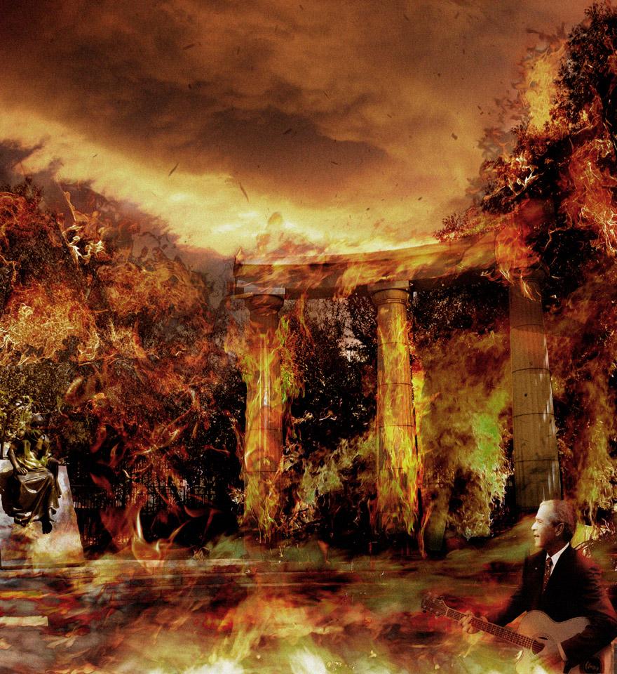 حريق روما جاء انتشار الديانة المسيحية في روما لتكون سبباً أخر في زيادة ظلم  نيرون، خاصة عندما وجد أن كثير من الشعب قد دخل إلى المسيحية، وجاء التاريخ  ليدون ...
