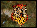 Owl of glass