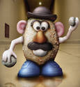 Killer Mr Potatohead...